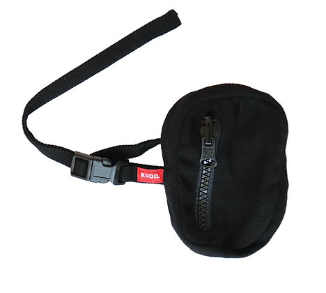 Black Canvas Micro Bag