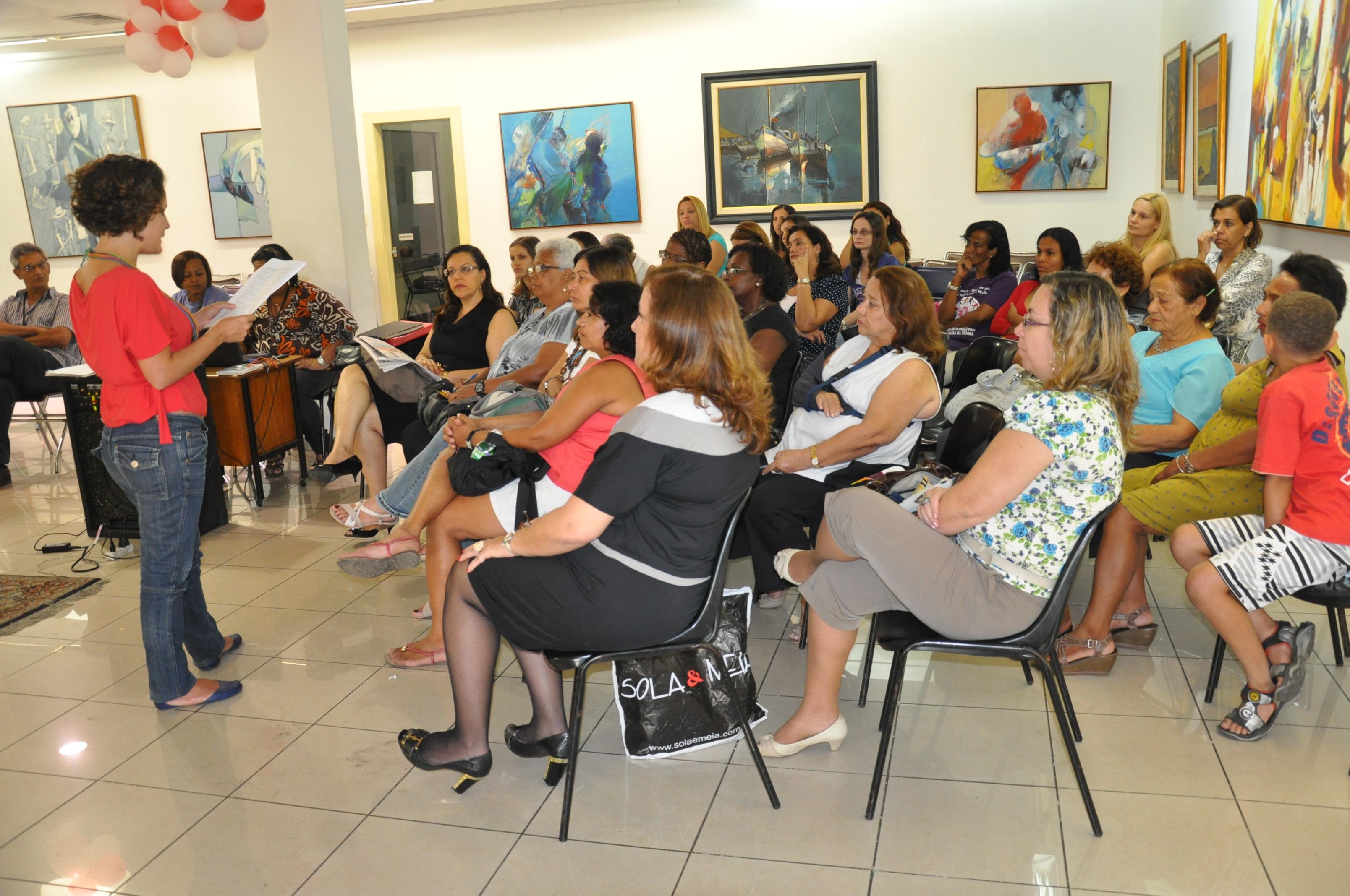 Reunião Rede de mulheres