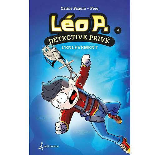 Léo P. Détective privé T4