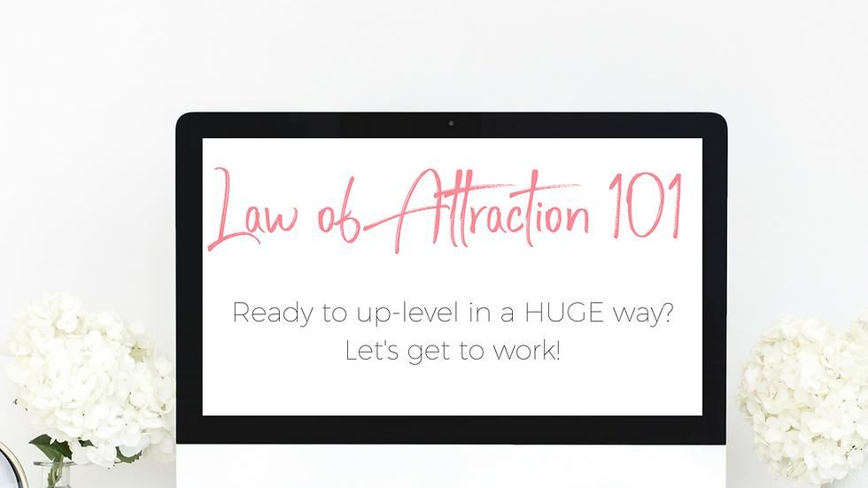 Law of Attraction 101 Course