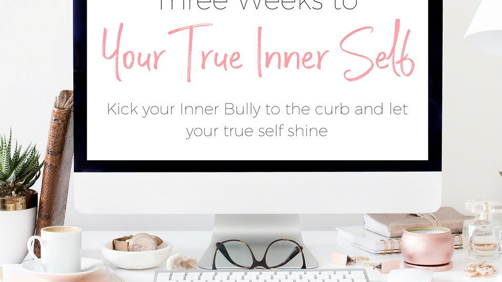 Three Weeks to Your True Self