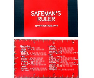 Safeman's Ruler