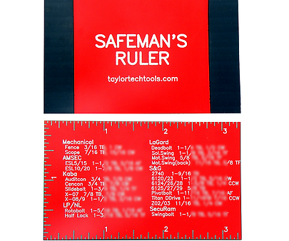 Safeman's Ruler