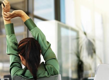Bienestar corporal en el trabajo