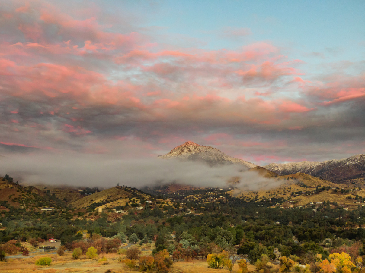 View of Sequoia National Forest