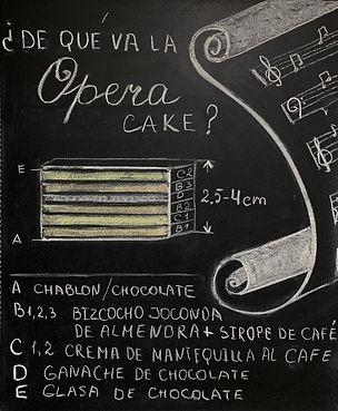 """Este es el estándar de la tarta Ópera clásica. Puede haber variantes, claro. Pero una tarta de chocolate que lleva la inscripción """"Opera"""" no siempre es una Ópera."""