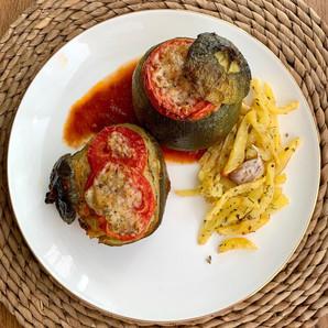 Calabacines redondos: rellénalos a tu gusto