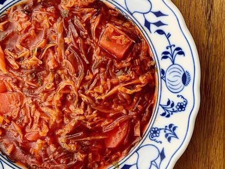 El Borsch - la típica sopa rusa