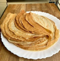 Crepes receta francesa