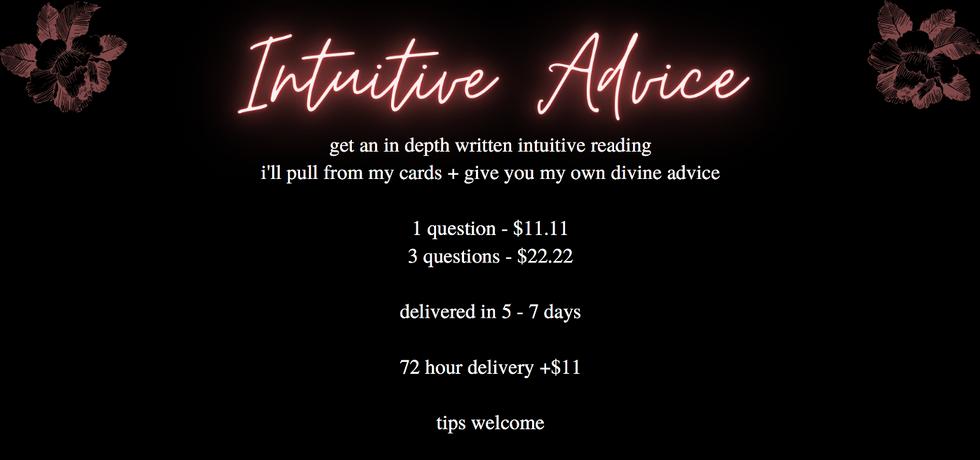 Intuitive Advice