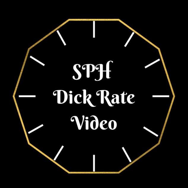 SPH Dick Rate Video