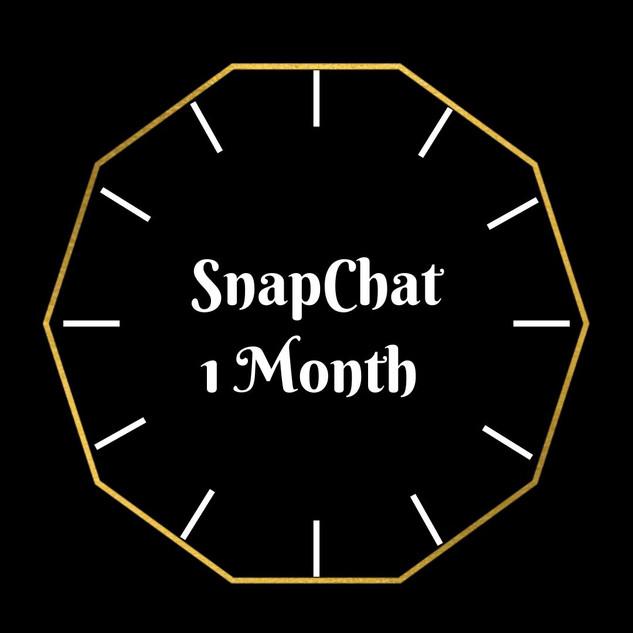 Snapchat 1 Month