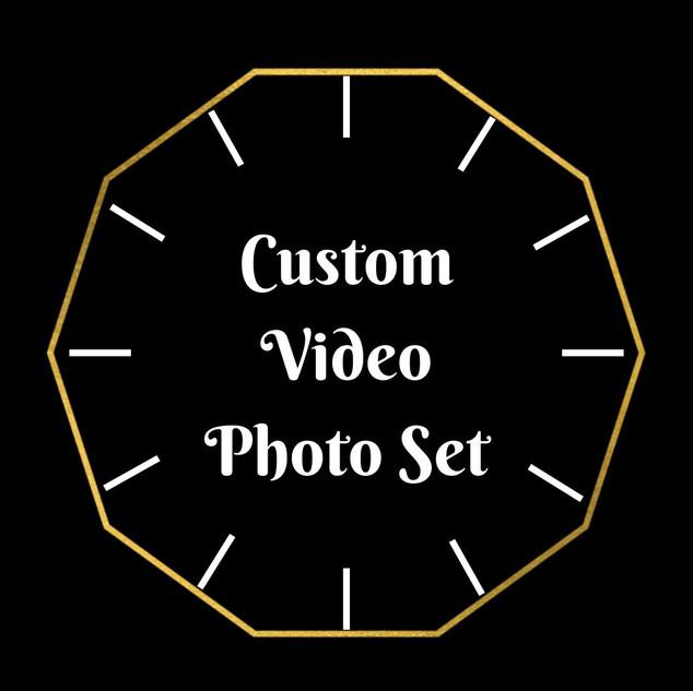 Custom Video Photo Set