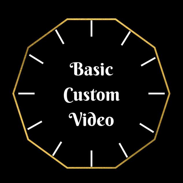 Basic Custom Video