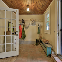 New/old mudroom