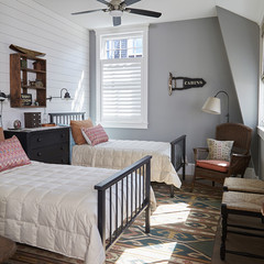Campy bedroom