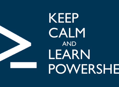 Getting Started With PowerShell - Pt2 - How to Run Scripts