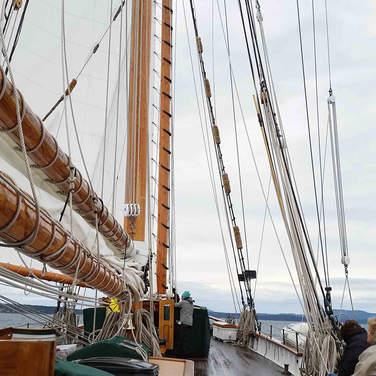 Rainy Day Sailing