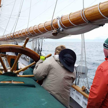 Hard Sailing!