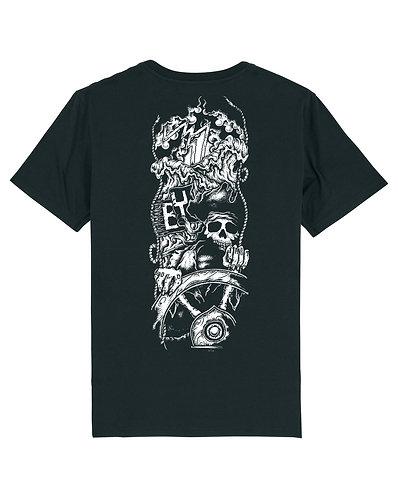 T Shirt Skull Captain