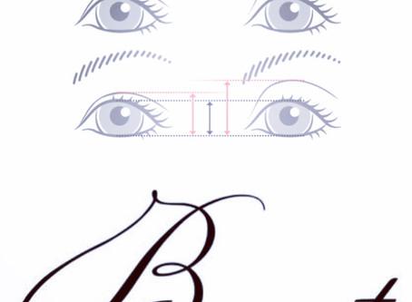目の大きさが違う・・マツエクで改善を!