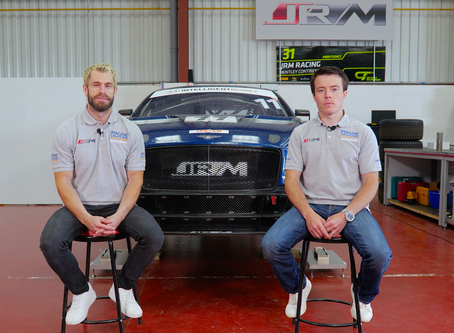 JRM Group to withdraw their Bentley Racing Team entry for the British GT Championship in 2020