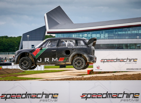 JRM Supports Silverstone World RallyX launch