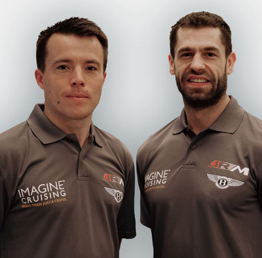 MARTIN PLOWMAN & STRICTLY COME DANCING CHAMPION KELVIN FLETCHER JOIN JRM RACING FOR BRITISH GT 2020