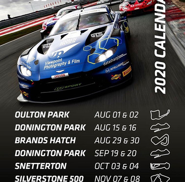 British GT announces 2020 Calendar