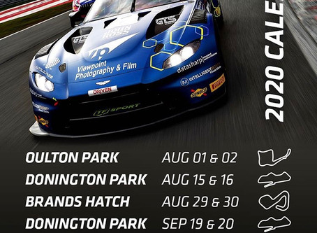 British GT announces 2020 Calendar