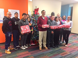 CFN Clients Fill Shoeboxes For I Love First Peoples