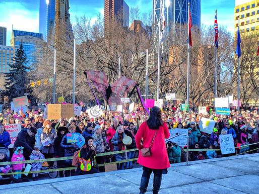 Calgary Women's March 2.0
