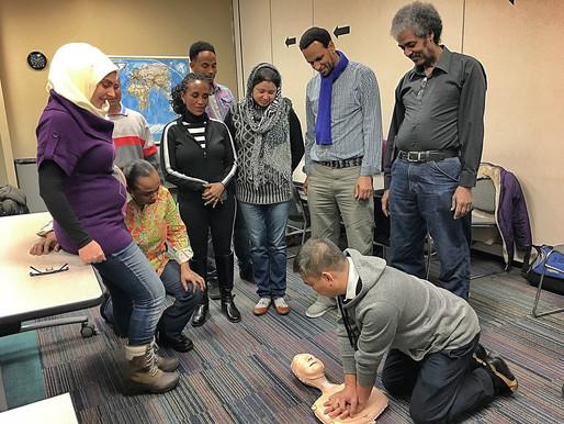 CPR Training @ CFN