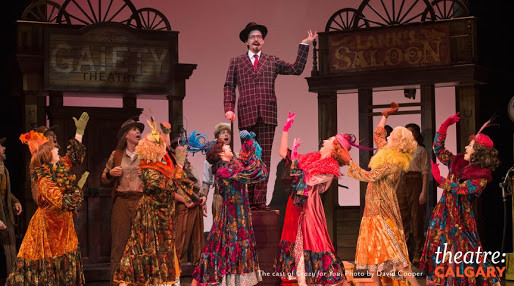 CFN Attends Opening Night of Theatre Calgary's Crazy For You