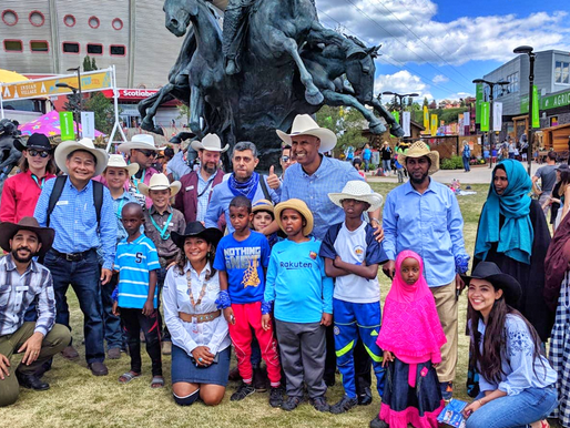 CFNs Joins Canada's Immigration Minister @ Calgary Stampede
