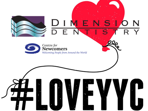 #LOVEYYC Day - Dimension Dentistry Partners with CFN
