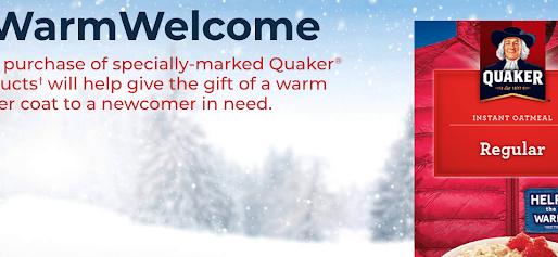 Quaker's #WarmWelcome Campaign @ CFN