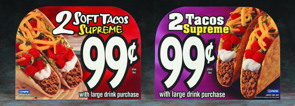 Taco Bell Window Designs