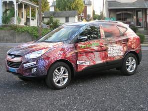 Hyundai Zombie Mud Run Event