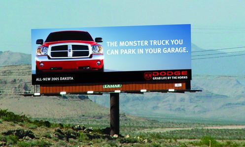 Dodge Dakota Billboard