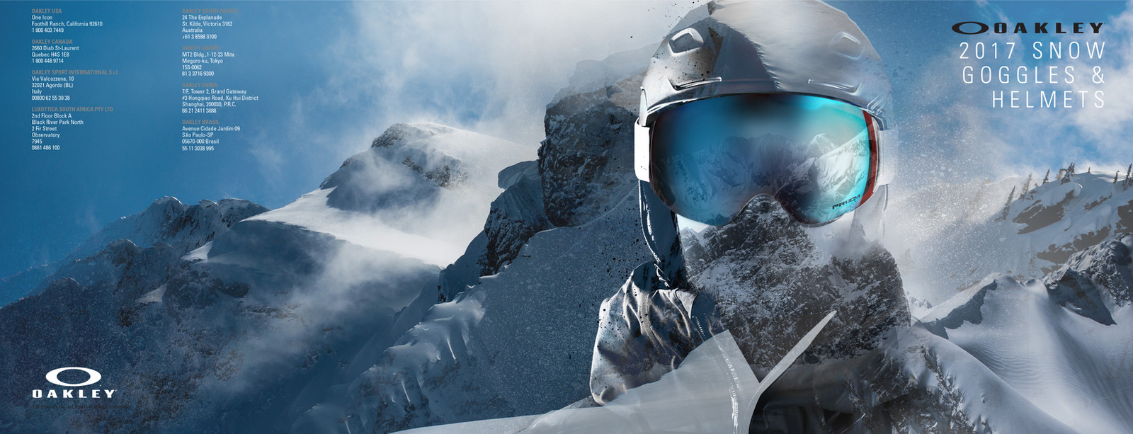 ca21846426 Oakley 2017 Snow Catalog