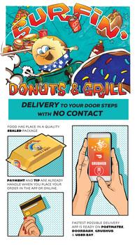 Surfin Donuts Social Post