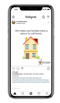 Ronald McDonald House Virtual Walk for Kids Post