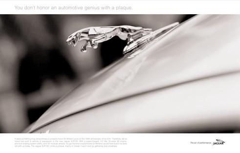 Jaguar Print Campaign