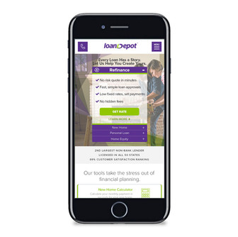 LoanDepot Website Redesign