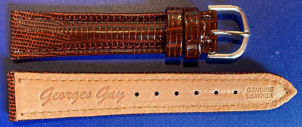 Bracelet cuir lézard Georges Gay