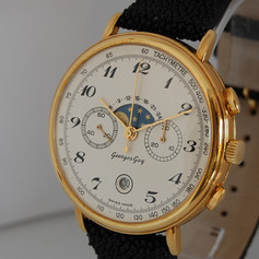Chronographe Georges Gay or