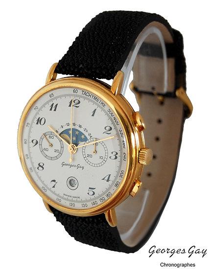 Chronographe Valjoux 7734 - Or