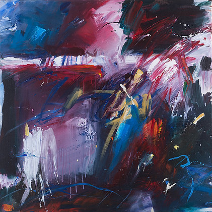 Stormy Monday by Murray Prichard Abstract Art, Australian Expressionism Artist, Fine Art Limited Edition Prints