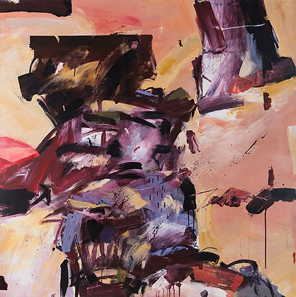 Bad Land by Murray Prichard Abstract Art, Australian Expressionism Artist, Fine Art Limited Edition Prints